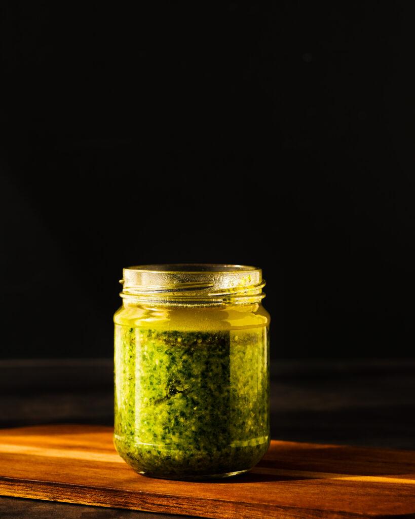 Fresh Homemade Basil Pesto