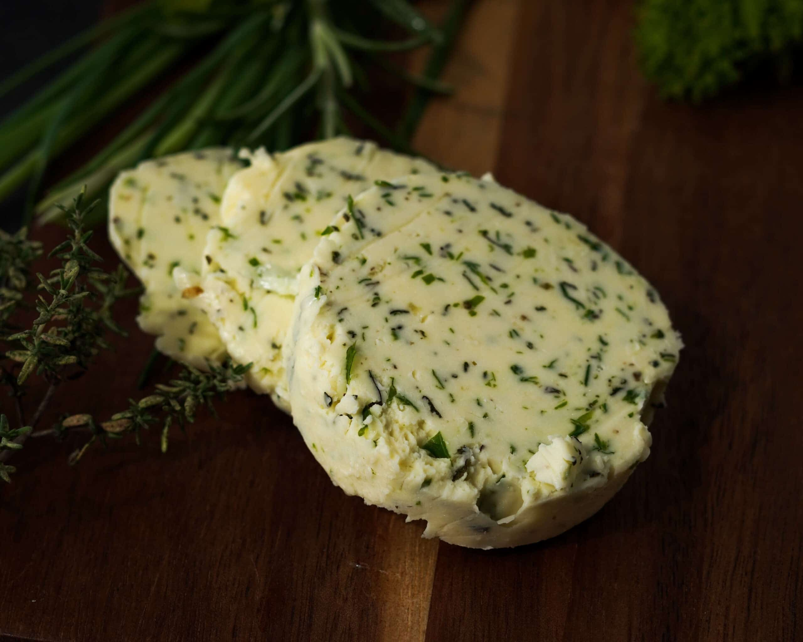 How to Make Homemade Herb Butter