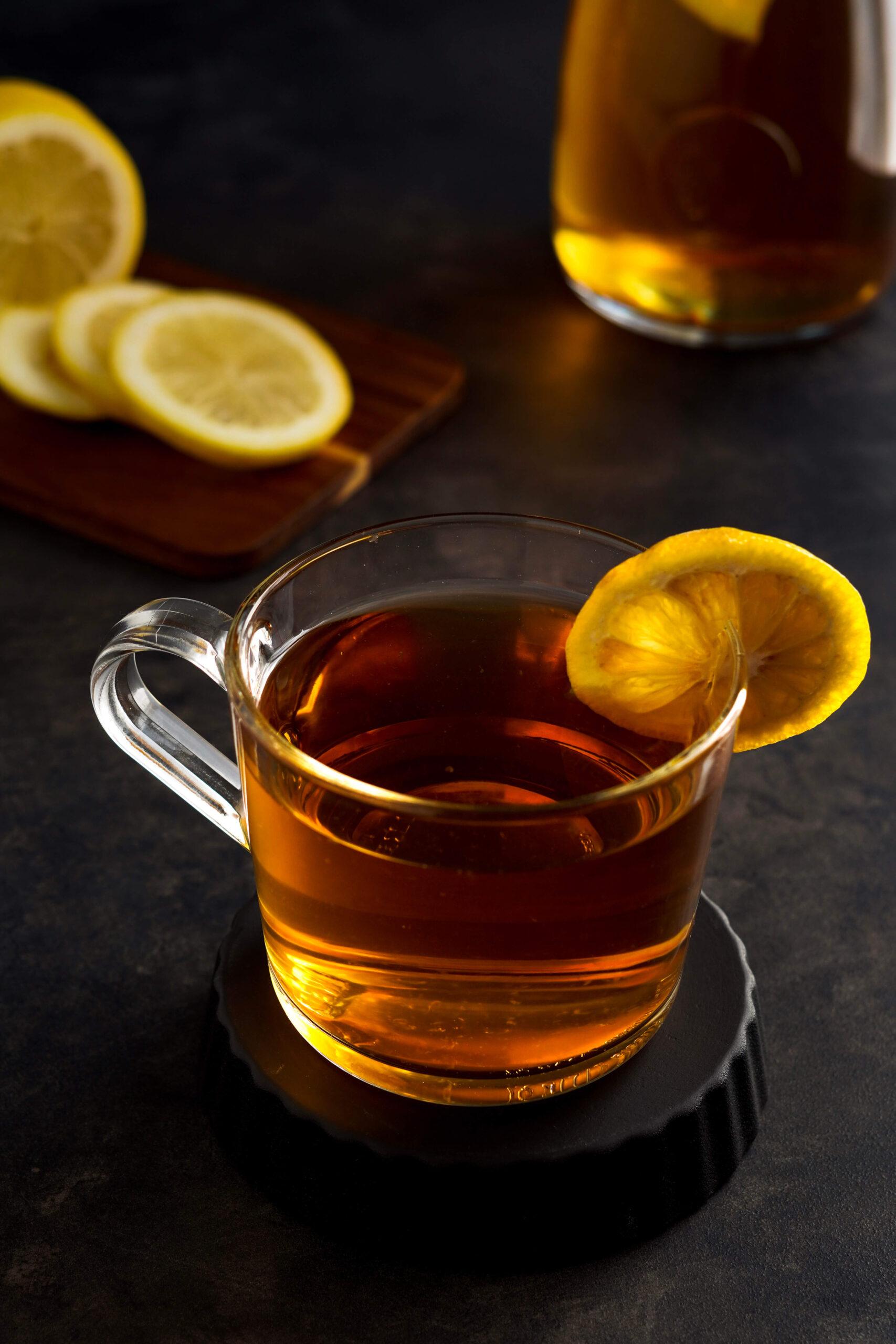 Good Morning Iced Tea (Black & Mint tea)