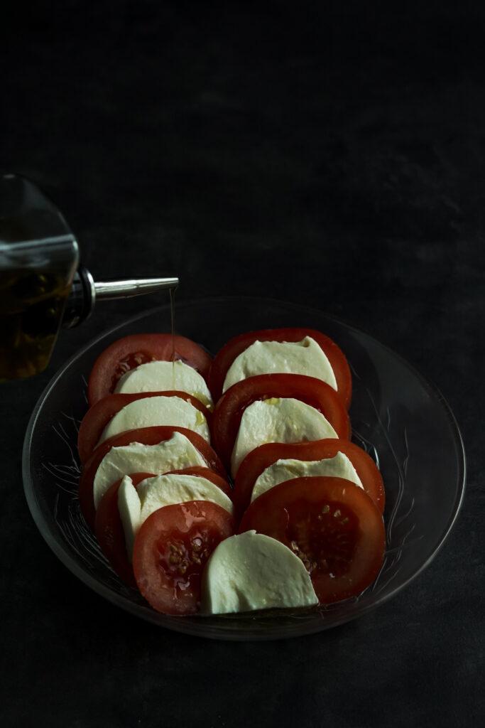 Tomato Mozzarella Caprese Salad